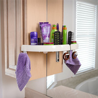 harga CORNER RACK SNAP UP SHELF RAK SIKU KOSMETIK ALAT MANDI Tokopedia.com