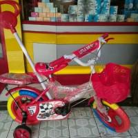 Sepeda anak DORONGAN STIR LITTEL BAT (BAN MATI)