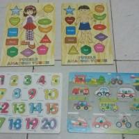 Mainan Edukasi Anak Puzzle Kayu