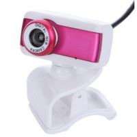 Rose Usb 2.0 Hd Webcam Camera 1080p Microphone PC Computer Laptop