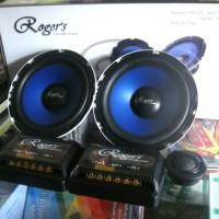 Harga speaker split 6 5 inch roger s crossover dan tweeter suara | Pembandingharga.com