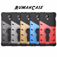 Armor Bumper Stand Rugged Kuat Hard Soft Case Cover Casing OnePlus 3