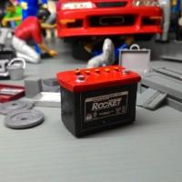 miniatur accu mobil skala 18