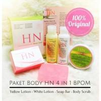 Jual paket body HN BPOM 4in1 / 4 in 1 original - pemutih badan Murah