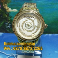 JAM TANGAN WANITA MANGO MA1004L-80K GOLD ORIGINAL MURAH GARANSI RESMI