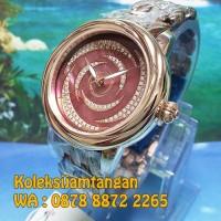 JAM TANGAN WANITA MANGO MA1004L-95R ROSE GOLD PINK ORIGINAL MURAH