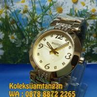 JAM TANGAN WANITA MANGO MA6684L-13K GOLD ORIGINAL MURAH
