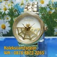 JAM TANGAN WANITA MANGO MA1002L-80K GOLD ORIGINAL MURAH GARANSI RESMI