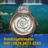 JAM TANGAN WANITA MANGO MA1004L-80R ROSE GOLD ORIGINAL MURAH