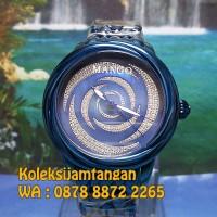 JAM TANGAN WANITA MANGO MA1004L-55 BIRU ORIGINAL MURAH GARANSI RESMI