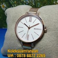 JAM TANGAN WANITA MANGO MA6681L-80R ROSE GOLD ORIGINAL MURAH