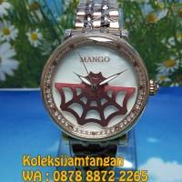 JAM TANGAN WANITA MANGO MA1002L-95R ROSE GOLD ORIGINAL MURAH