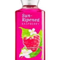#NEW# SUN RIPENED RASPBERRY (SABUN MANDI CAIR) BATH & BODY WORKS 295ML