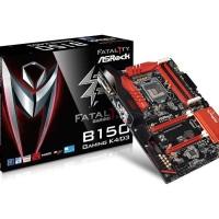 Motherboard Asrock Fatal1ty B150 Gaming K4/D3 (Skylake 1151) DDR3
