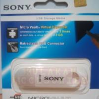 Flashdisk Sony 64GB | Flash Disk | Flash Drive MicroVault Sony 64GB