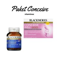 Paket - Blackmores Conceive Well Gold 56 and Men 28 Kapsul