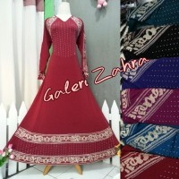 abaya aisyah / gamis bordir / dress muslim