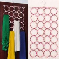 Hanger Unik untuk Gantung Jilbab Syal Kain Selendang Belt 28 Gantungan