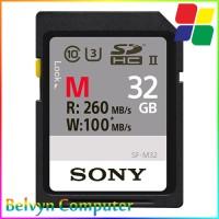 harga Sony M Series 32GB SDXC UHS-II U3 Class 10 260MB/s SF-M32 Memory Card Tokopedia.com