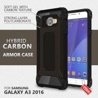 Samsung Galaxy A3 2016 Hybrid Shockproof Slim Armor Hard & Soft Case