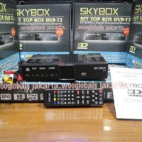SKYBOX SET TOP BOX DVB-T2 SKYBOX HD MPEG4 DIGITAL TERRESTRIAL RECEIVER