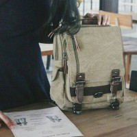 Horocrust Bag / Mini Backpack / Slingbag / Tas Kanvas / Ransel