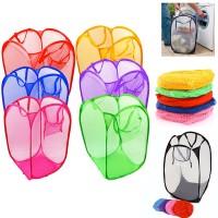 Keranjang Baju Kotor Lipat Praktis Laundry Bag Hamper