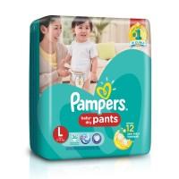 harga Pampers Active Baby Dry Pants L26 Tokopedia.com