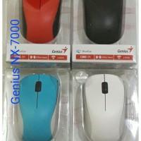 Genius Nx-7000 Wireless Optical Mouse (Nx7000) ORIGINAL & RESMI