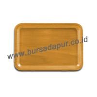 Bursa Dapur Nampan/ Baki Kayu Segi 25 x 17.5 cm