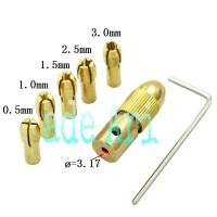 harga 7pcs chuck collet mini drill Tokopedia.com