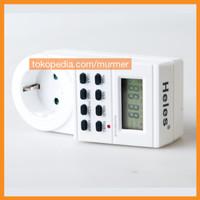 harga Digital Timer Switch Heles Stop Kontak Tokopedia.com