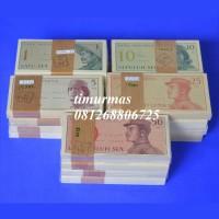 Jual Uang Kuno 1 ~ 50 Sen Seri Dwi Kora 1964 Murah