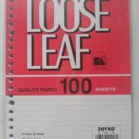 Isi Kertas File Joyko Besar B5 100 lembar / Refill Loose Leaf