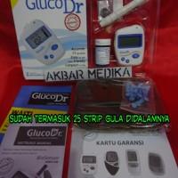 Jual Gluco Dr AGM 2100 Biosensor Alat Cek Gula Darah Bergaransi Murah