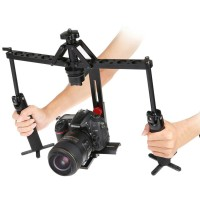 Handheld Stabilizer Camera Rig Gimbal 2-Axis for DSLR Canon Nikon Sony