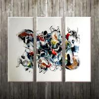 harga Lukisan Abstrak V2B Tokopedia.com