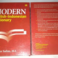 Modern English Indonesian Dictionary kamus bahasa inggris Drs. peter s