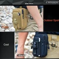 Tas pinggang hp army bag tactical outdoor bag tas pinggang gunung
