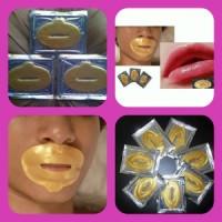 Jual Terjamin Gold Masker Bibir Lip mask collagen Murah