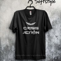 Harga kaos game games gildan polyflex crisis action logo | WIKIPRICE INDONESIA