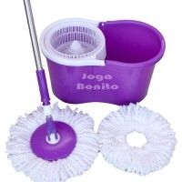 ALAT PEL LANTAI 360 DERAJAT MAGIC MOP TWIST PEMBERSIH SUPER EASY CLEAN