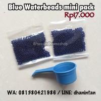 Jual BLUE waterbeads mainan sensory anak murah water beads hydrogel biru Murah
