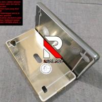 Case Vivo Y15 Bumper Mirror | Bumper Slide Mirror