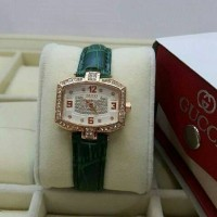 Jam Tangan Gucci Lady Gaga Leather Diamond