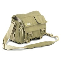 Tas Kamera Selempang DSLR National Geographic Canvas Bag - NG2345 - Kh