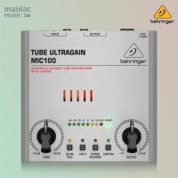 Behringer MIC100 (Audiophile Tube Preamplifier, Phantom Power)