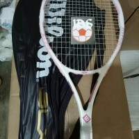 harga Raket Tenis Wilson Blx Pink + Senar (Free Tas) For Lady Tokopedia.com