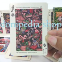 Kartu Remi Unik BALI Story of Calon Arang ~ Joker Playing Cards Set
