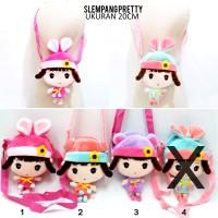 harga Tas Slempang Anak boneka pretty Angela Metoo Korean Ransel Dompet Tokopedia.com